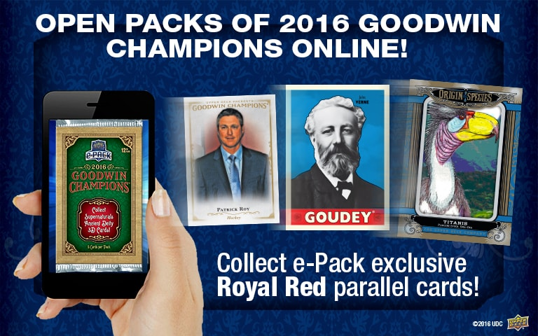 Open packs of 2016 Goodwin Champions online