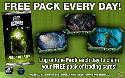 Free pack every day!