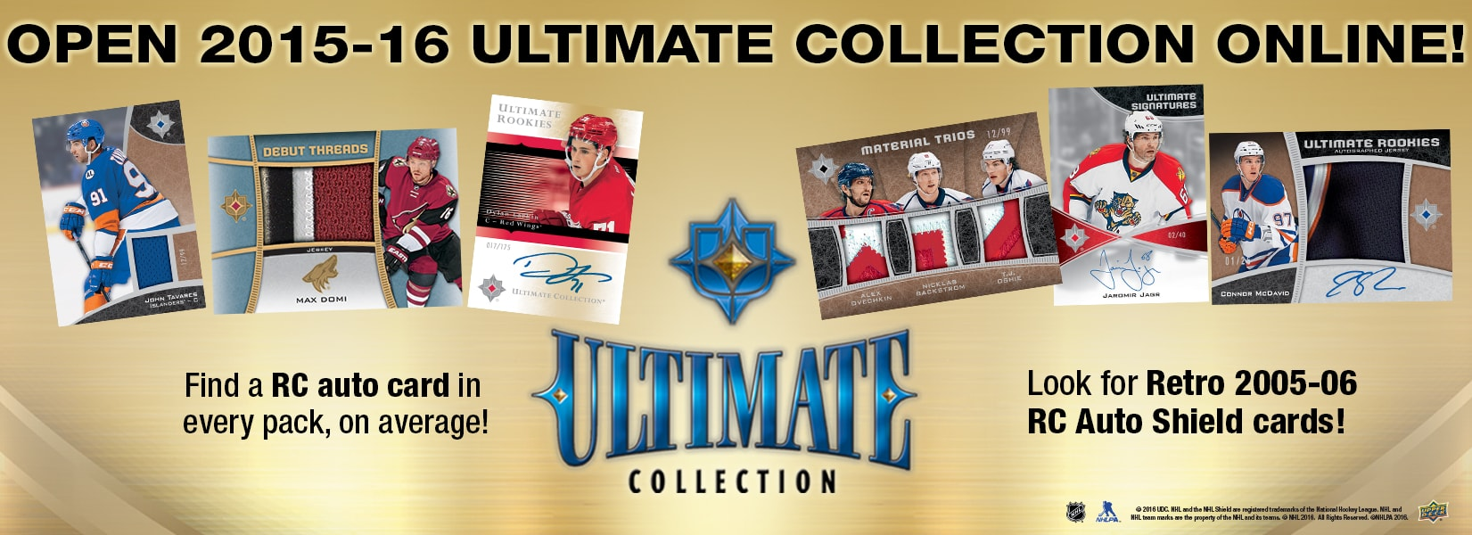 Open packs of UD Ultimate online