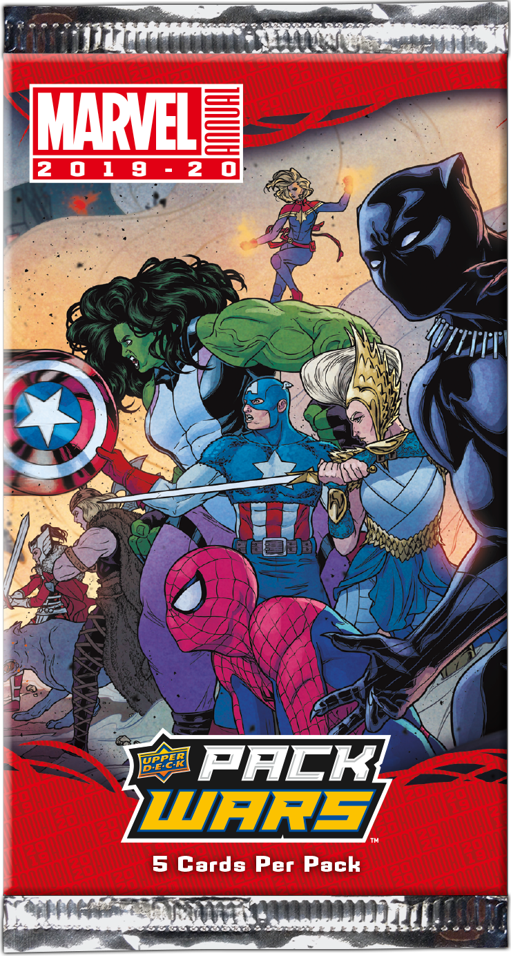 2019-20 Marvel Annual - Pack Wars