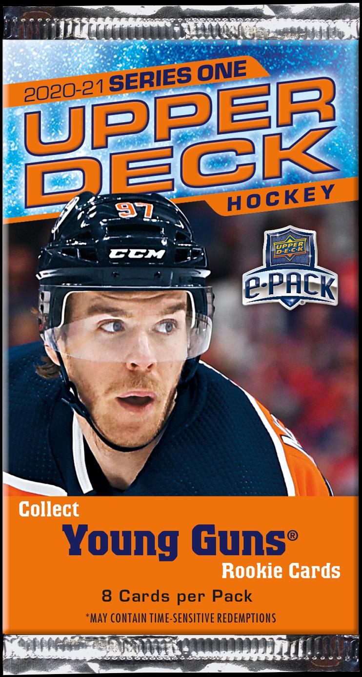 2020-21 UD Series 1 Hockey