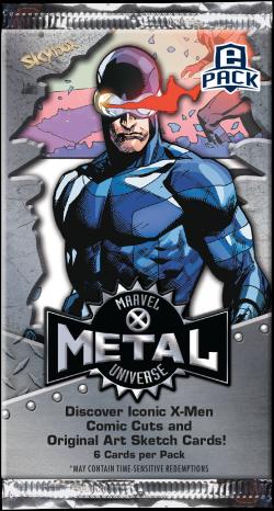 2020 Marvel X-Men Metal Universe